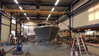 40' OC Premier Work in Progress casco 4