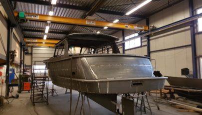 40' OC Premier Work in Progress casco 3